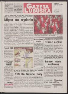 Gazeta Lubuska R. XLVI, nr 276 (27 listopada 1997). - Wyd. 1