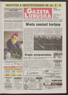 Gazeta Lubuska R. XLVI, nr 283 (5 grudnia 1997). - Wyd. 1