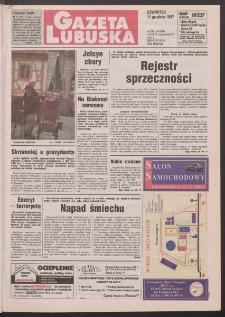 Gazeta Lubuska R. XLVI, nr 288 (11 grudnia 1997). - Wyd. 1