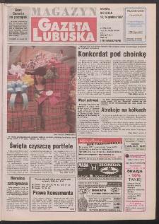 Gazeta Lubuska : magazyn R. XLVI, nr 290 (13/14 grudnia 1997). - Wyd. 1