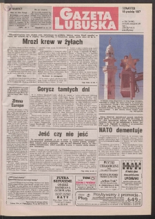 Gazeta Lubuska R. XLVI, nr 294 (18 grudnia 1997). - Wyd. 1