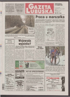 Gazeta Lubuska R. XLVIII [właśc. XLIX], nr 19 (24 stycznia 2000). - Wyd. A