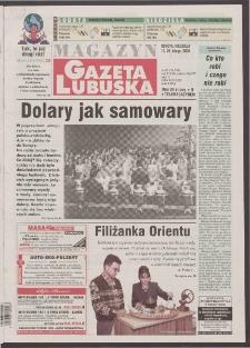 Gazeta Lubuska : magazyn R. XLVIII [właśc. XLIX], nr 42 (19/20 lutego 2000). - Wyd. A