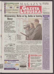 Gazeta Lubuska : magazyn R. XLVIII [właśc. XLIX], nr 60 (11/12 marca 2000). - Wyd. A