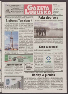 Gazeta Lubuska R. XLVIII [właśc. XLIX], nr 62 (14 marca 2000). - Wyd. A