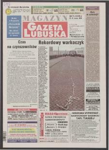 Gazeta Lubuska : magazyn R. XLVIII [właśc. XLIX], nr 72 (25/26 marca 2000). - Wyd. A