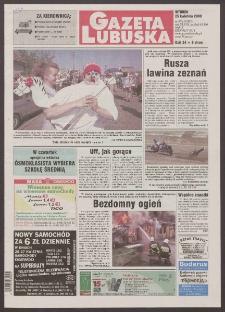 Gazeta Lubuska R. XLVIII [właśc. XLIX], nr 97 (25 kwietnia 2000). - Wyd. A