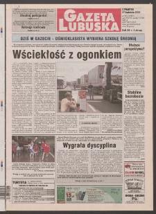 Gazeta Lubuska R. XLVIII [właśc. XLIX], nr 99 (27 kwietnia 2000). - Wyd. A
