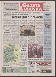 Gazeta Lubuska R. XLVIII [właśc. XLIX], nr 100 (28 kwietnia 2000). - Wyd. A