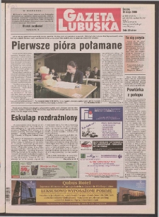 Gazeta Lubuska R. XLVIII [właśc. XLIX], nr 108 (10 maja 2000). - Wyd. A
