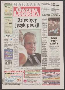 Gazeta Lubuska : magazyn R. XLVIII [właśc. XLIX], nr 135 (10/11 czerwca 2000). - Wyd. A