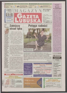 Gazeta Lubuska : magazyn R. XLVIII [właśc. XLIX], nr 158 (8/9 lipca 2000). - Wyd. A