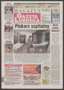 Gazeta Lubuska : magazyn R. XLVIII [właśc. XLIX], nr 188 (12/13 sierpnia 2000). - Wyd. A