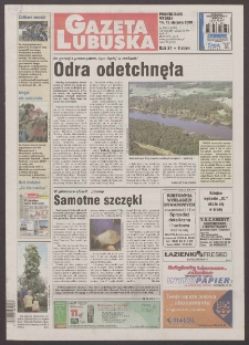 Gazeta Lubuska R. XLVIII [właśc. XLIX], nr 189 (14/15 sierpnia 2000). - Wyd. A
