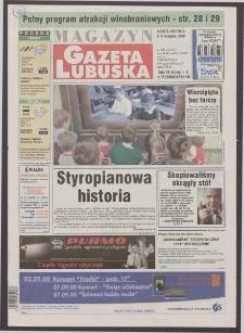 Gazeta Lubuska : magazyn R. XLIX, nr 205 (2/3 września 2000). - Wyd. A