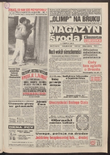 Gazeta Lubuska : magazyn środa : dawniej Zielonogórska-Gorzowska R. XLII [właśc. XLIII], nr 127 (1/2 czerwca 1994). - Wyd. 1