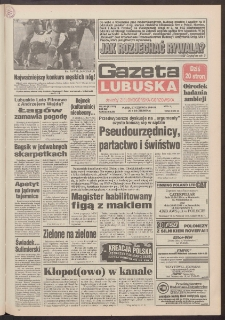 Gazeta Lubuska : dawniej Zielonogórska-Gorzowska R. XLII [właśc. XLIII], nr 140 (17 czerwca 1994). - Wyd. 1