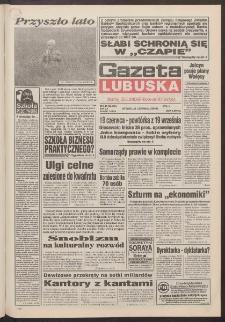 Gazeta Lubuska : dawniej Zielonogórska-Gorzowska R. XLII [właśc. XLIII], nr 143 (21 czerwca 1994). - Wyd. 1