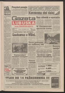 Gazeta Lubuska : dawniej Zielonogórska-Gorzowska R. XLII [właśc. XLIII], nr 232 (4 października 1994). - Wyd. 1
