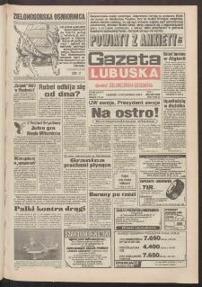 Gazeta Lubuska : dawniej Zielonogórska-Gorzowska R. XLII [właśc. XLIII], nr 240 (13 października 1994). - Wyd. 1