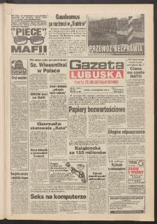 Gazeta Lubuska : dawniej Zielonogórska-Gorzowska R. XLII [właśc. XLIII], nr 244 (18 października 1994). - Wyd. 1