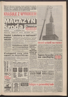 Gazeta Lubuska : magazyn środa : dawniej Zielonogórska-Gorzowska R. XLII [właśc. XLIII], nr 251 (26 października 1994). - Wyd. 1