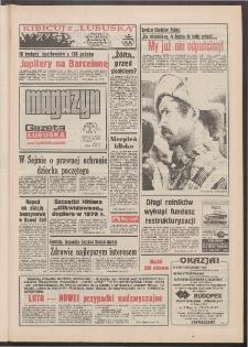 Gazeta Lubuska : magazyn : dawniej Zielonogórska-Gorzowska R. XL [właśc. XLI], nr 173 (25/26 lipca 1992). - Wyd. 1