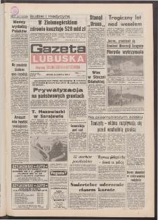 Gazeta Lubuska : dawniej Zielonogórska-Gorzowska R. XL [właśc. XLI], nr 198 (25 sierpnia 1992). - Wyd. 1