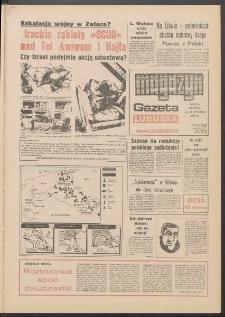 Gazeta Lubuska : magazyn : dawniej Zielonogórska R. XXXIX [właśc. XL], nr 16 (19/20 stycznia 1991). - Wyd. 1