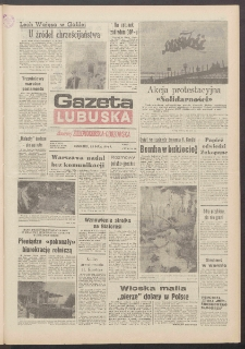 Gazeta Lubuska : dawniej Zielonogórska-Gorzowska R. XXXIX [właśc. XL], nr 118 (23 maja 1991). - Wyd. 1