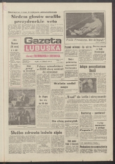 Gazeta Lubuska : dawniej Zielonogórska-Gorzowska R. XXXIX [właśc. XL], nr 136 (14 czerwca 1991). - Wyd. 1