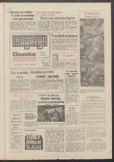 Gazeta Lubuska : magazyn : dawniej Zielonogórska-Gorzowska R. XXXIX [właśc. XL], nr 143 (22/23 czerwca 1991). - Wyd. 1