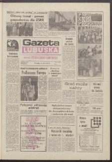 Gazeta Lubuska : dawniej Zielonogórska-Gorzowska R. XXXIX [właśc. XL], nr 163 (16 lipca 1991). - Wyd. 1