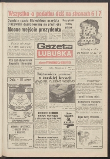 Gazeta Lubuska : dawniej Zielonogórska-Gorzowska R. XXXIX [właśc. XL], nr 283 (6 grudnia 1991). - Wyd. 1