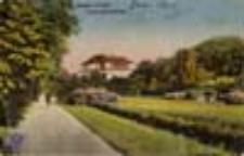 Żary / Sorau N.-L.; Partie im Stadtpark