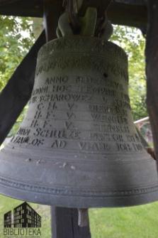 Przęślice (kościół filialny) - dzwon (datowanie 1727)