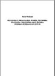 Filozofia a pedagogika: Józefa Tischnera filozofia człowieka, jako źródło inspiracji pedagogicznych