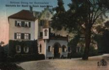 Dłużek / Dolzig; Schloss Dolzig bei Sommerfeld; Geburtsstätte Ihrer Majestät der Kaiserin Auguste Victoria
