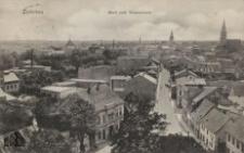 Sulechów / Züllichau; Blick vom Wasserturm