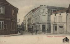 Sulechów / Züllichau; Eingang z. Schwiebuserstrasse