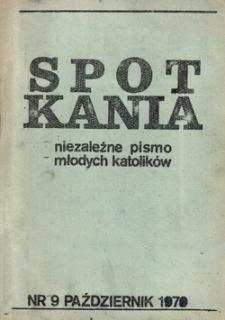 Spotkania: niezależne pismo młodych katolików: Grudzień 1970, nr 25 [1984]