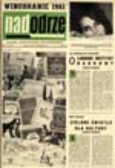 Nadodrze: pismo społeczno-kulturalne, październik 1961