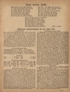 Grünberger Hauskalender 1921