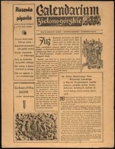 Calendarium Zielonogórskie [październik 1958]