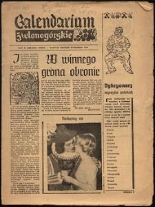 Calendarium Zielonogórskie [październik 1959]