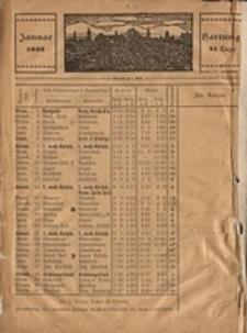 Hauskalender für den Kreis Grünberg in Schl. auf das Jahr 1923