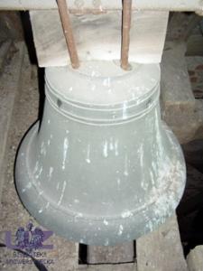 Sokola Dąbrowa (kościół parafialny) - dzwon (datowanie - XV/XVI w.)
