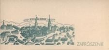 Zaproszenie: [...] na miejsca zarezerwowane [...] podczas przemarszu Korowodu Winobraniowego w dniu 24 września 1967 r. o godz. 10.00