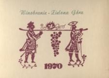 Winobranie Zielona Góra 1970: [zaproszenie na koncert inauguracyjny]