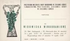 [Zaproszenie na Widowiska Winobraniowe 27 września 1970 r.]